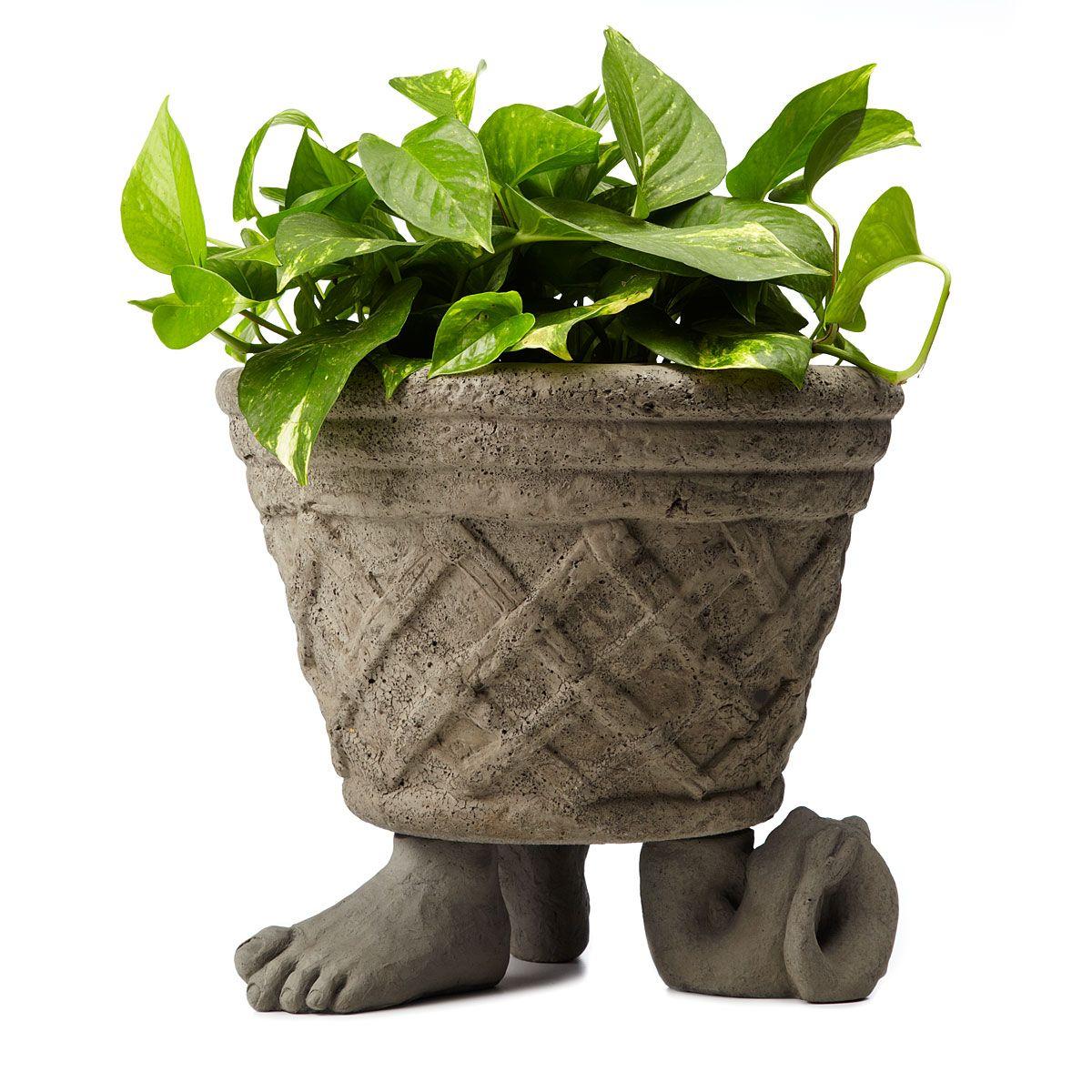FEET AND TAIL POT FEET - SET OF 3 | Planter Feet, Garden Décor | UncommonGoods