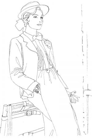 Style, Within The Lines - Vogue Colouring Book