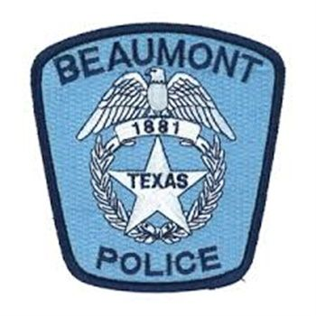 Beaumont Tx Pd Texas Police Police Patches Police Dept