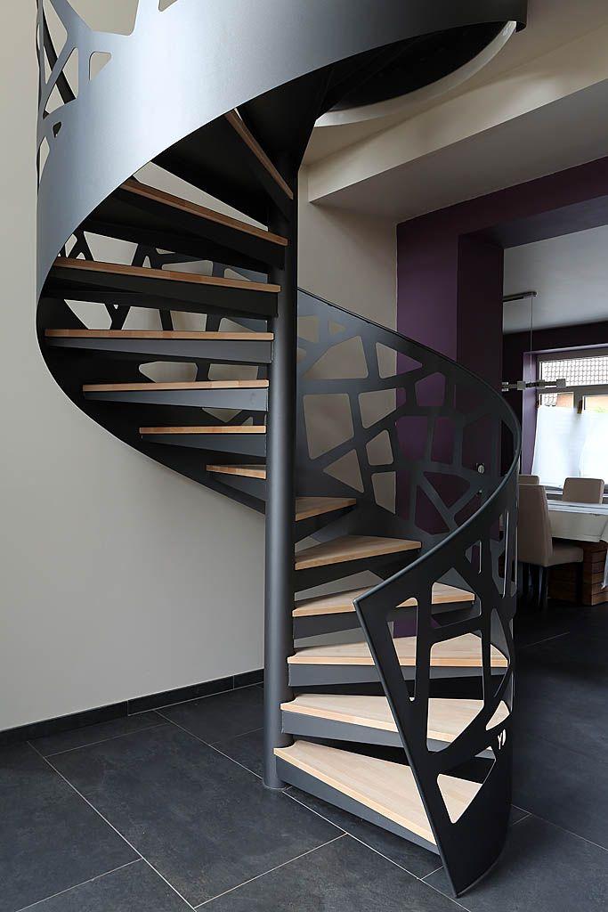 Yves deneyer menuiserie m tallique ferronnerie - Fotos de escaleras modernas ...