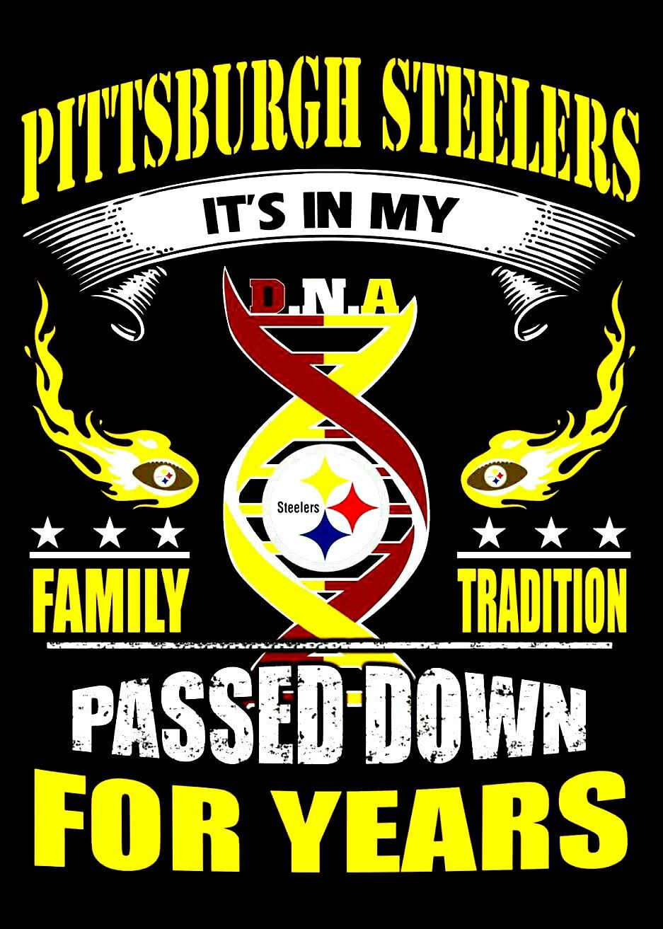 Passed Down for years Steelers, Pittsburgh steelers logo