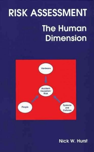 Risk Assessment The Human Dimension safety Pinterest Risk - health safety risk assessment