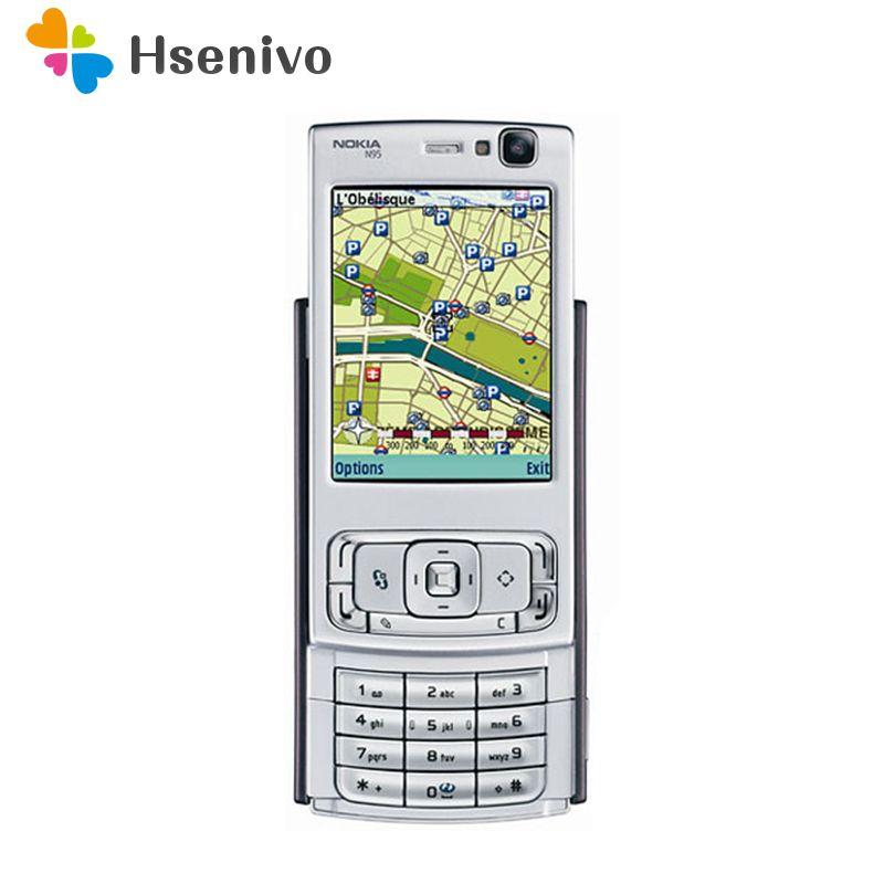 Get Discount Refurbished N95 Original Nokia N95 WIFI GPS 5MP 2.6 ...