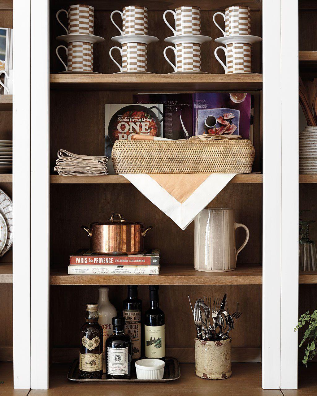 how to style your kitchen wall shelves | kitchen | kitchen, kitchen