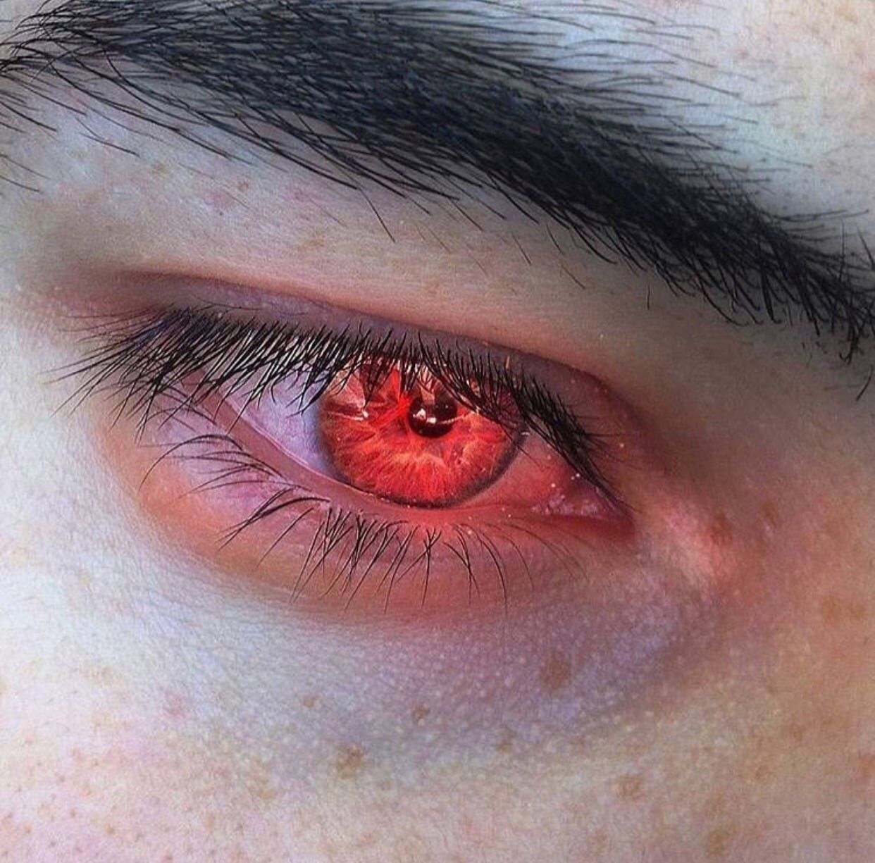 Pin By Mollymauk On Static Flatline Aesthetic Eyes Red Eyes