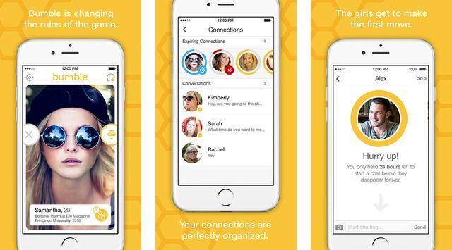 Girls Need To Make The First Move In Ex Tinder Vp S Bumble App Bumble Dating App Bumble Dating Bumble App