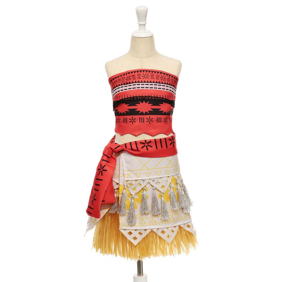 784a574922 $13.86 US Beautiful Moana costume for beautiful girls from 3 to 10 years old.  Accessories optional. 100% purchase protection. Ships free from China.