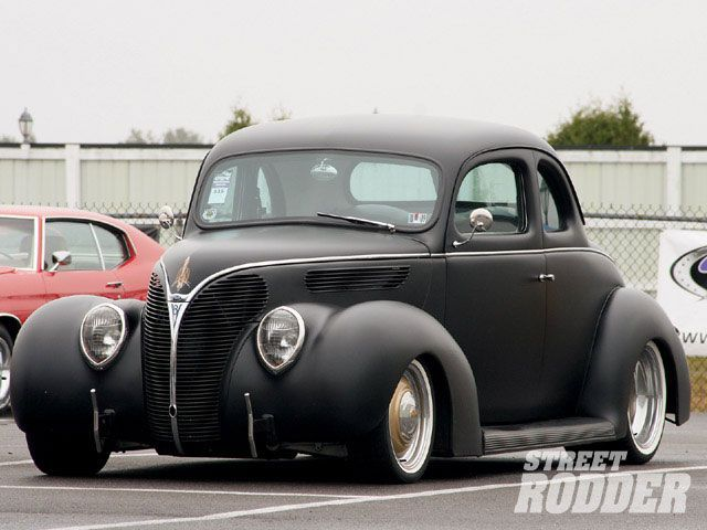 38 Ford Coupe Street Rodder Hot Rods Cars Street Cars
