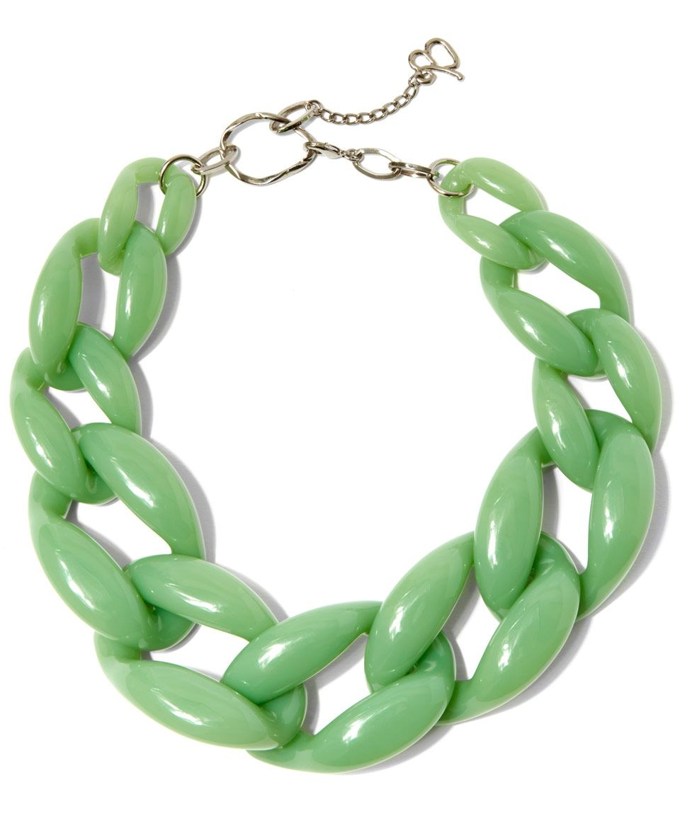 Diana Broussard Nate Link Glass and Resin Necklace | Accessories |