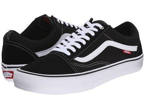 Vans Old Skool Pro Black white  63bbc74888d