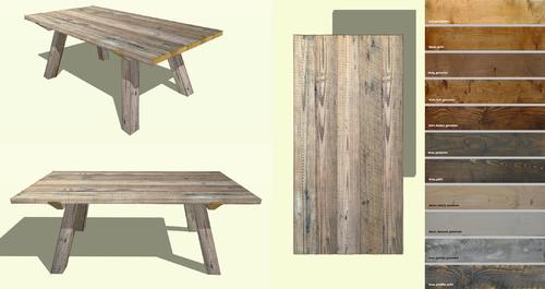 Tisch Gratleiste Esstisch Bauholz Kostenloser Versand Bauen Mit Holz Gerustbohlen Tisch