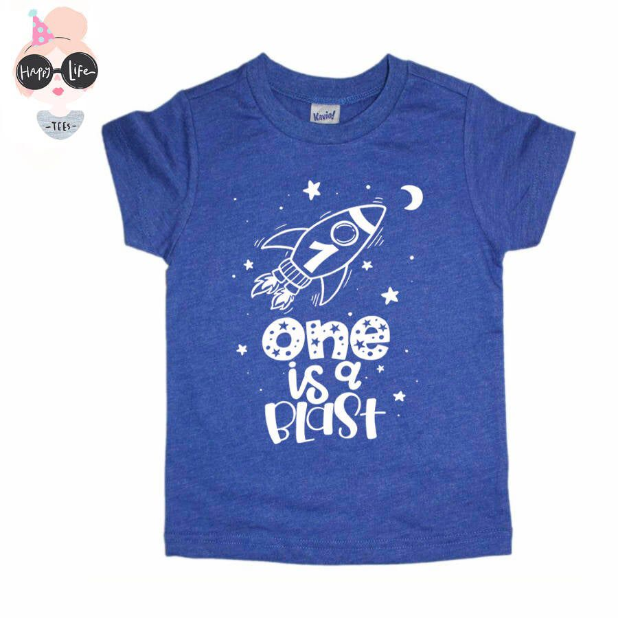 Space Birthday Shirt - Space Shirt - First Birthday Shirt - Outer Space Birthday - Rocket Birthday Shirt - Space Birthday -Outer Space Party #outerspaceparty