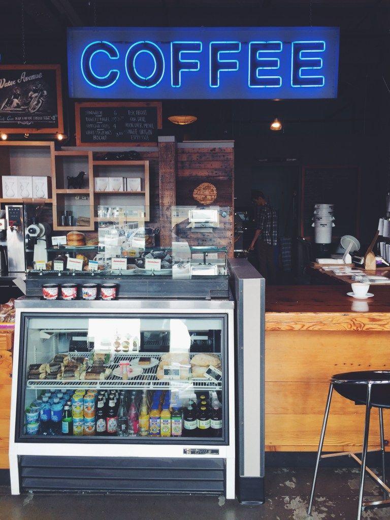 Exploring Coffee in Portland Industrial interiors