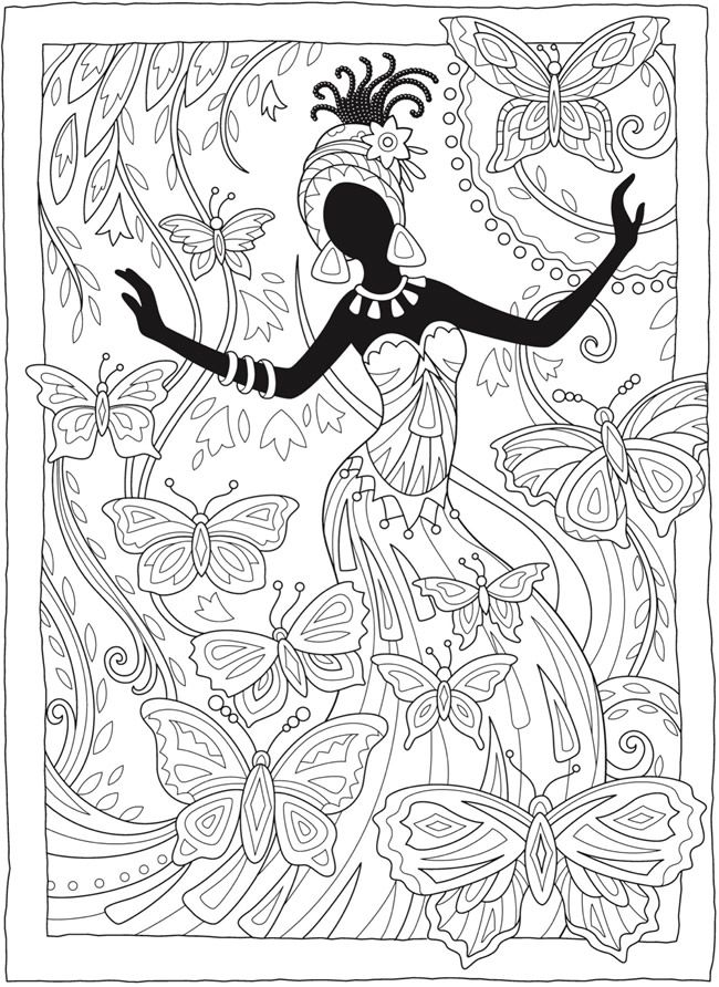 Welcome to Dover Publications | fashion coloring en 2018 | Pinterest ...