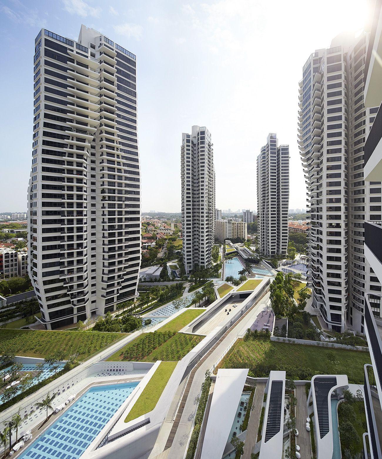 Du0027Leedon Condominium, Singapore   Zaha Hadid Architects