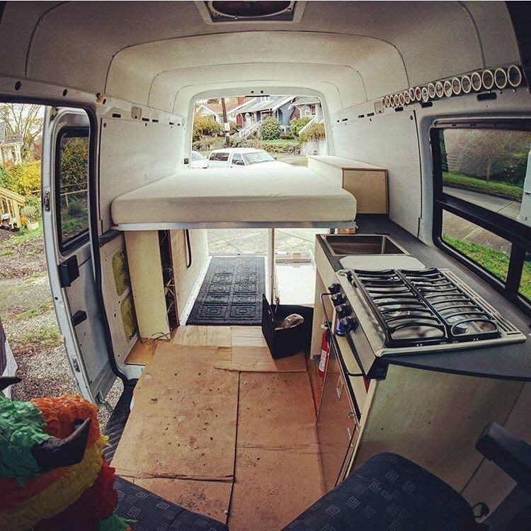 Camper Van Conversion For Beginner Furgoni Camperizzati