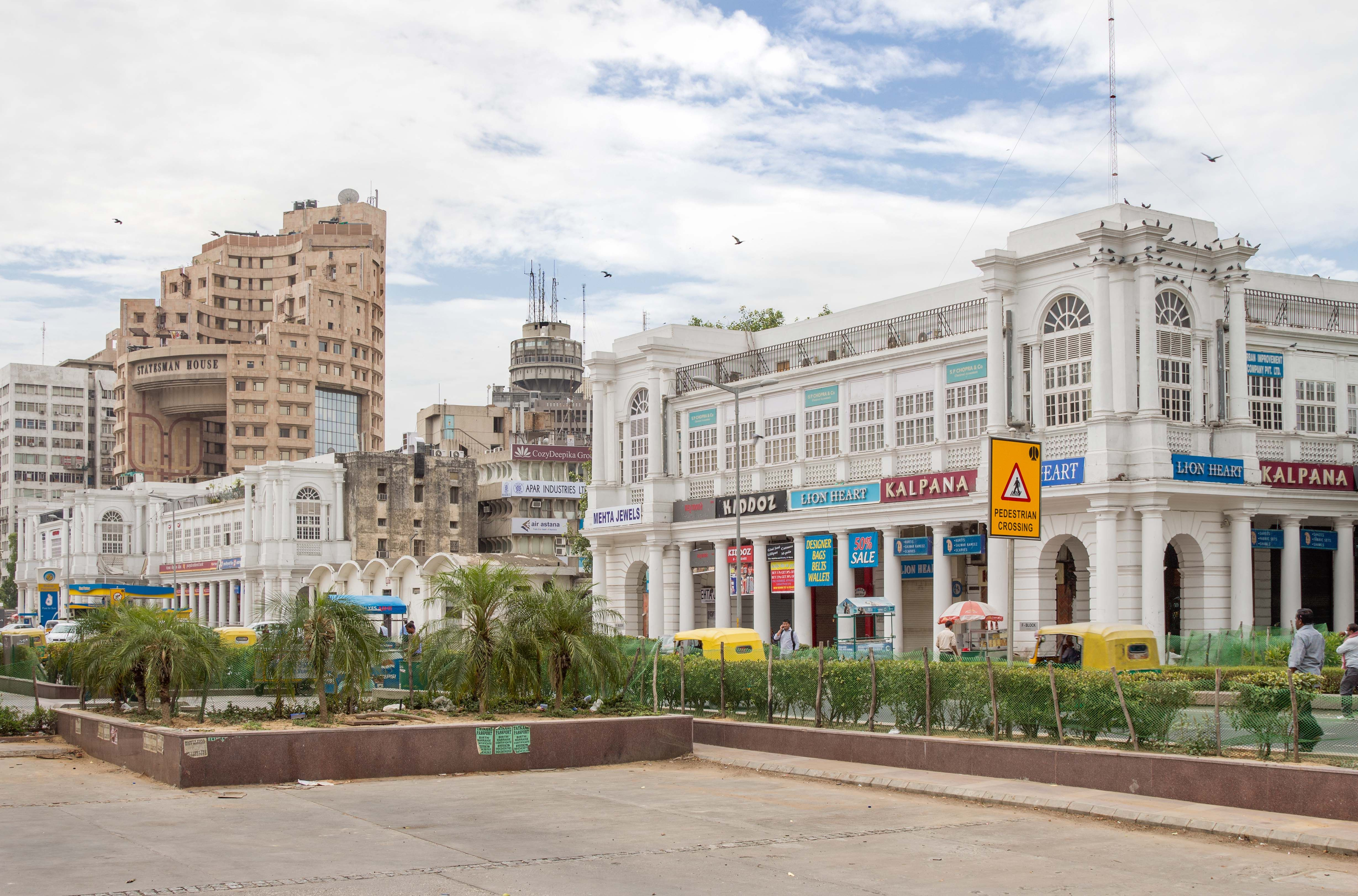 Connaught Place, situated in the heart of New Delhi, is a