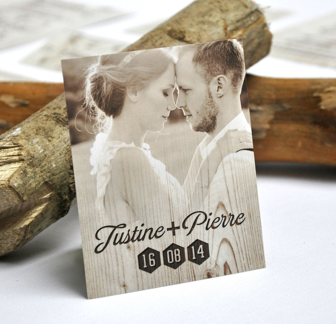 carte de remerciement mariage fleurs champ tre wedding and weddings. Black Bedroom Furniture Sets. Home Design Ideas