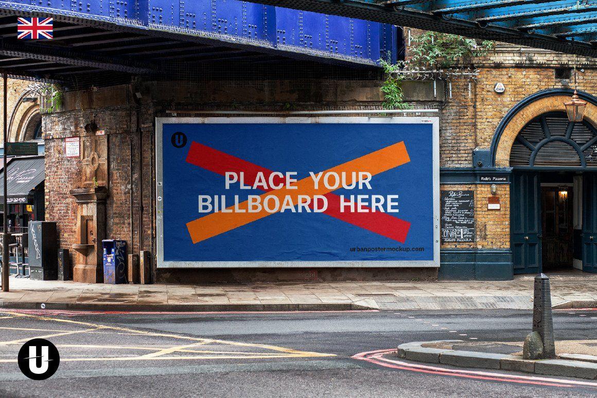 Billboard Poster Mockup Poster Mockup Poster Mockup Psd Billboard Mockup