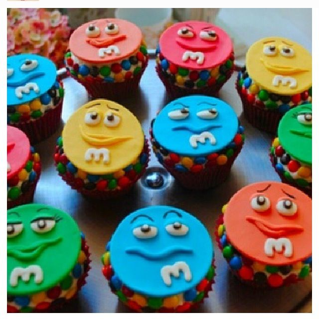 MM cupcakes Mm Party Pinterest Food styling Cake and Food