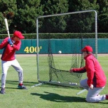 Baseball Hitting Net Amp Frame 7 X 7 Hitting Net Baseball Hitting Baseball