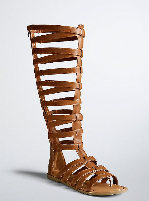 6367614967d58 Tall Gladiator Cage Sandals (Wide Width   Wide Calf)