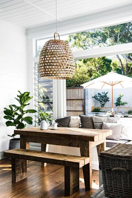 Comedor Abierto A La Terraza. #inspiration #villeroyboch #villeroyboches # Interiorismo #decoracion #casa #terraza #salon #comedor