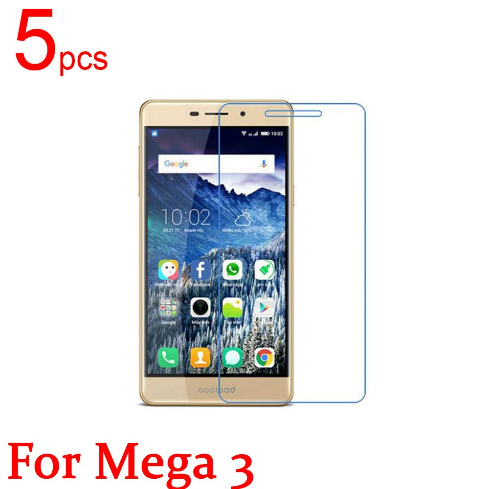 5pcs Ultra Clear/Matte/Nano anti-Explosion LCD Screen Protector film Cover For Coolpad Mega 3 Modena 2 E501 502 Y76 75 80D Film