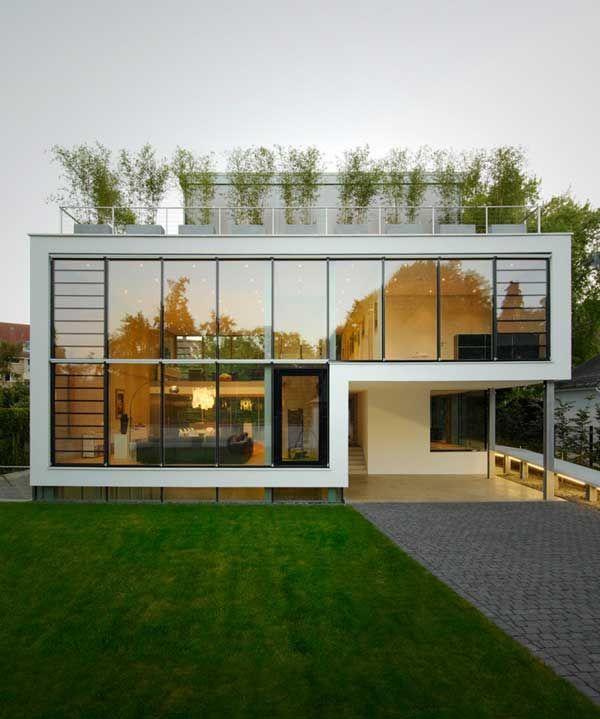 Beautiful Four Storey Modern Villa In Germany Architecture Beautiful Modern Homes Modern House Plans