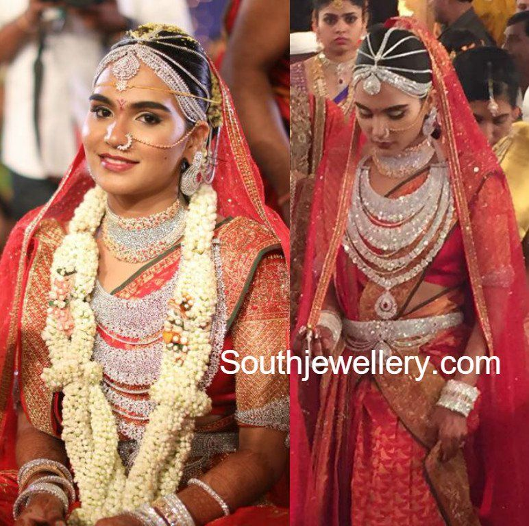 Gali Janardhan Reddy Daughter Brahmani's Wedding Jewellery