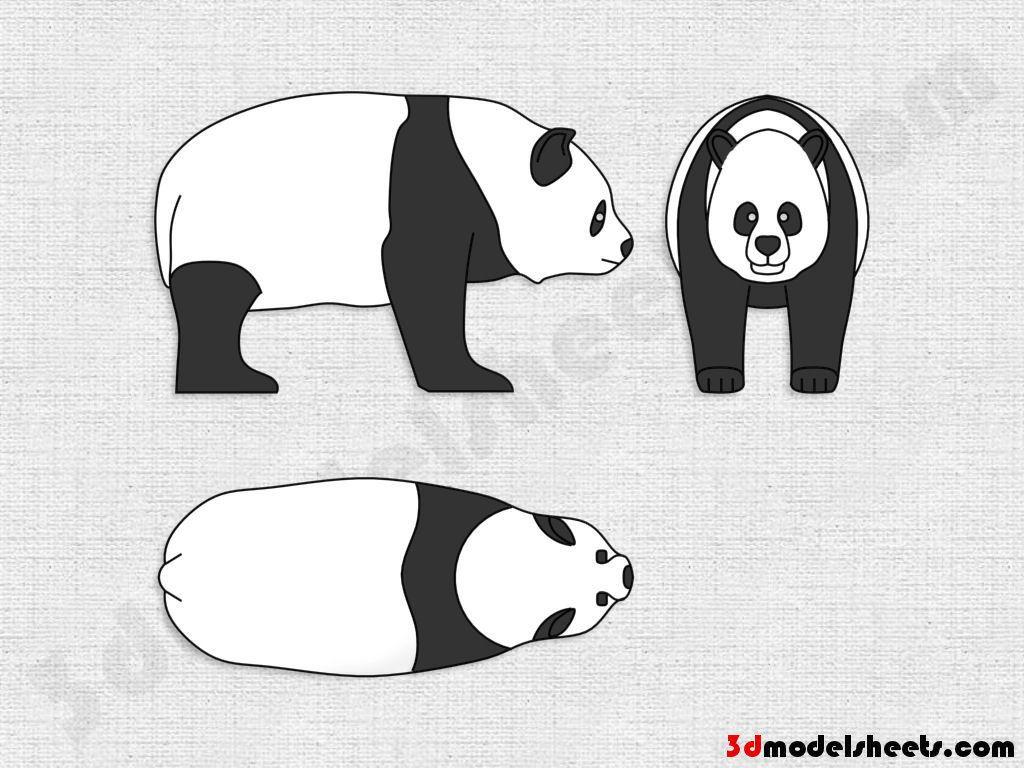 Animal Blueprint Character design, Animal drawings, Side