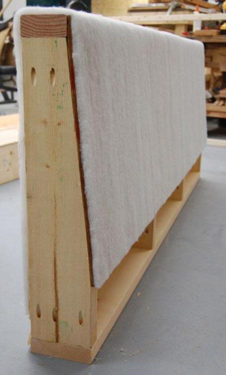 Idea para casas pequeñas: Cómo hacer un sofá cama   Tapicería, Sofás ...