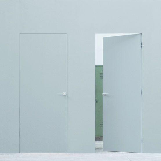 Bloc-Porte À Fleur De Mur Effet Invisible | Tentures, Portes Et