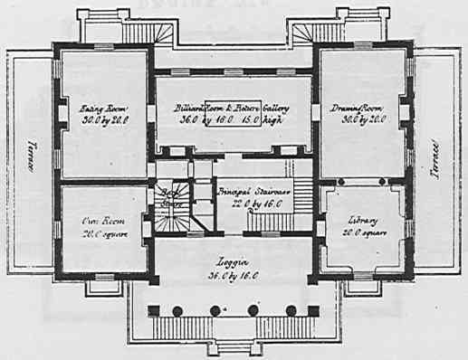Planjune01princ Jpg 517 398 Pixels House Floor Plans House Plans Mansion Mansion Floor Plan