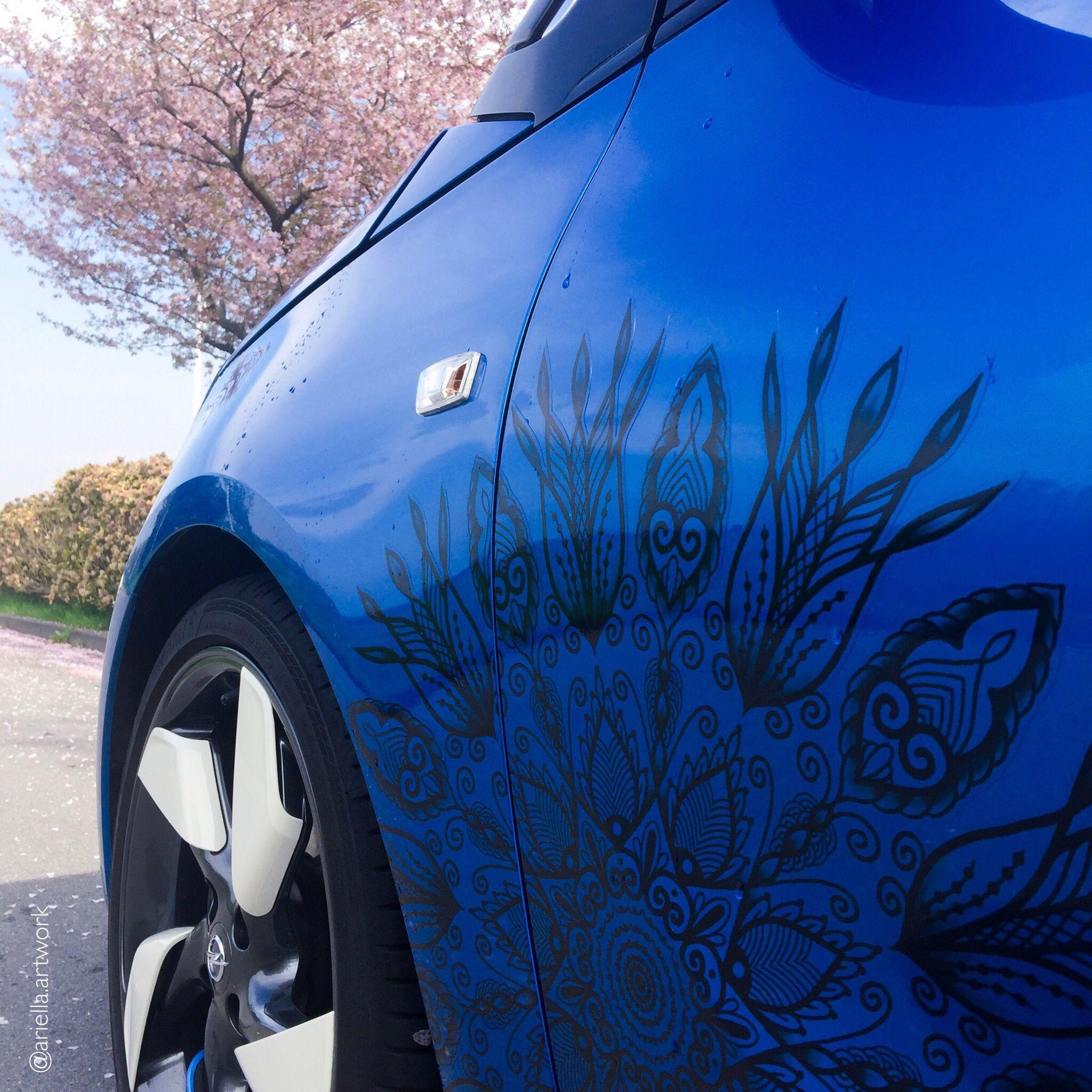 Mandala Sticker Aufkleber Speziell Für Autos Car Mandala