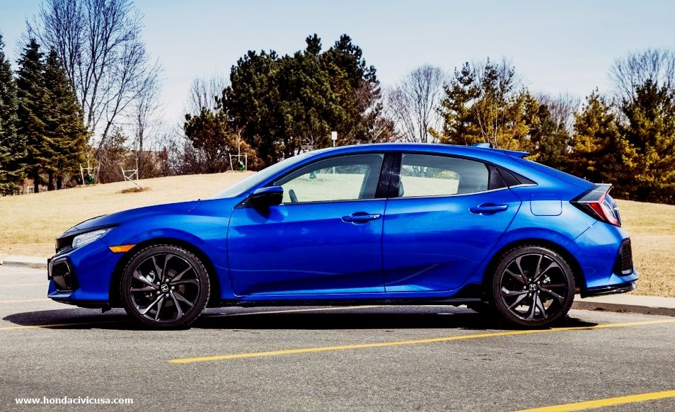 2019 Honda Civic Hatchback EXL Navi Redesign Honda