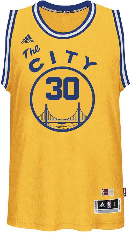 d4bb8747a adidas Men s Stephen Curry Golden State Warriors Hardwood Classic Swingman  Jersey