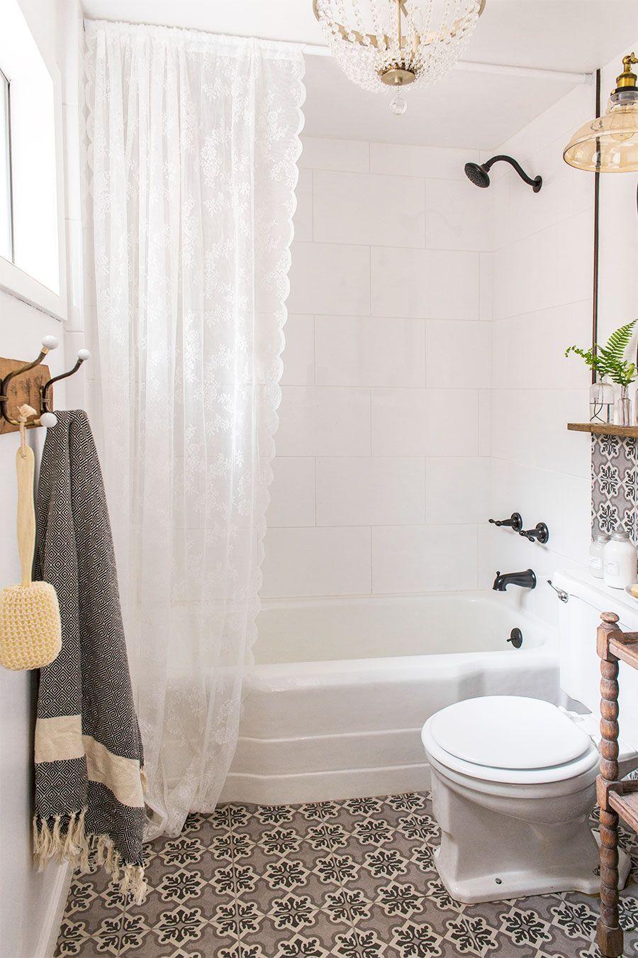 Downstairs Bathroom: Cottage House Flip Reveal | Pinterest ...