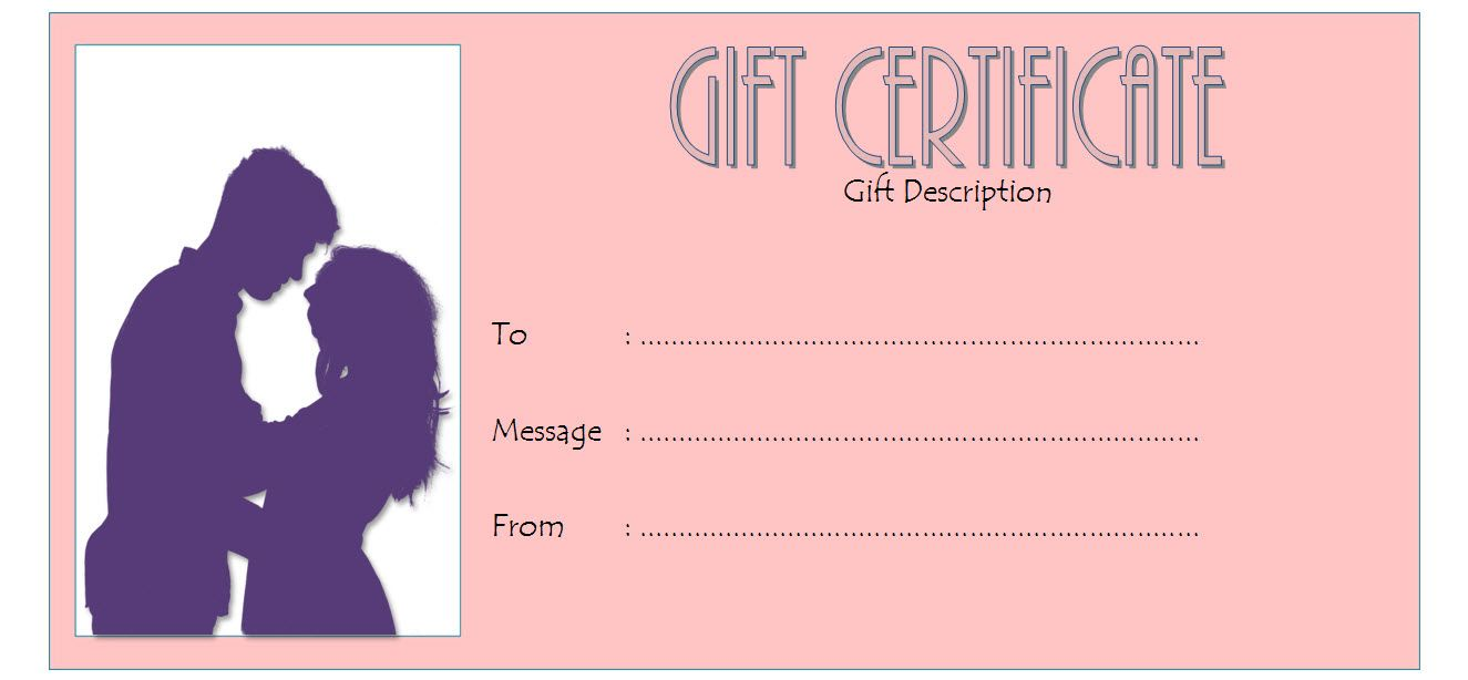Happy Anniversary Gift Certificate Template Free Everlasting Gift Certificate Template 25 Wedding Anniversary Gifts Happy Anniversary Gifts
