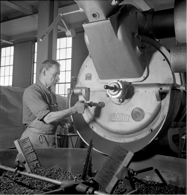 Schokoladefabrik Lindt & Sprüngli, 1941.