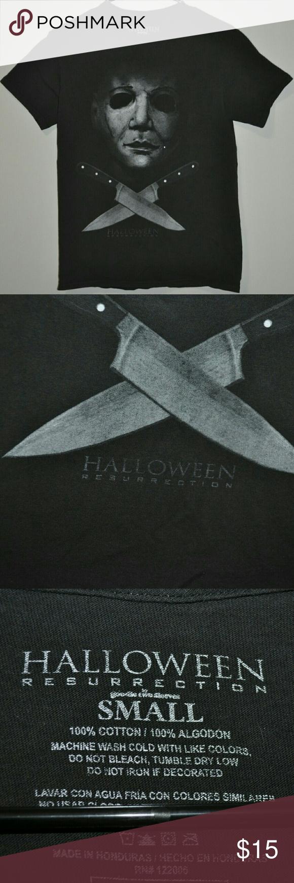 Halloween Resurrection T Shirt Film Tshirt Halloween Resurrection T Shirt