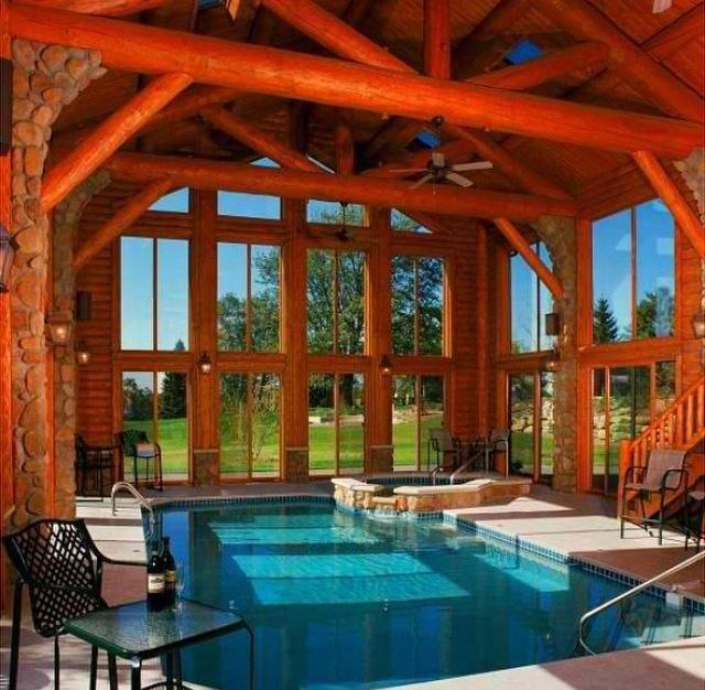 Dream Houses On Log Cabin Interior Log Homes Cabin Interior Design
