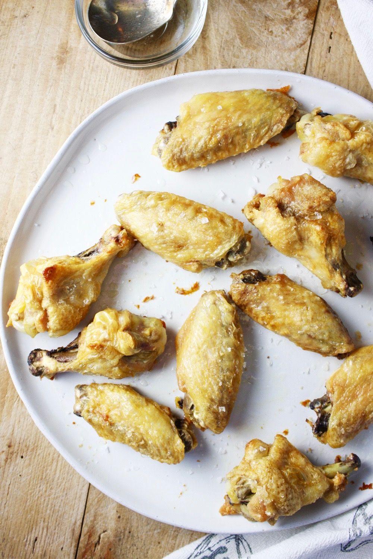 crispy oven baked salt and vinegar chicken wings recipe in 2020 vinegar chicken chicken wings crispy pinterest