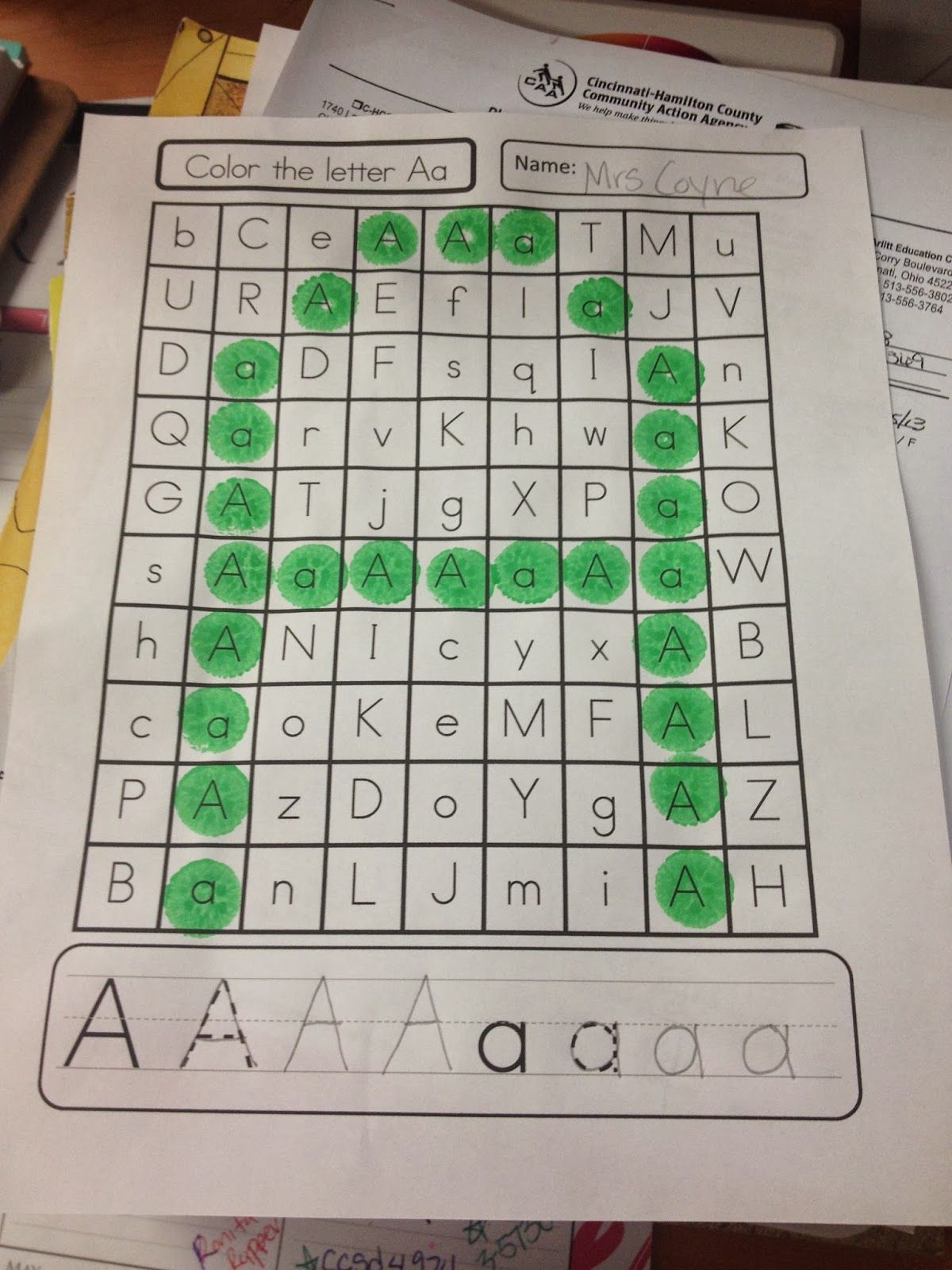 Coyne\'s Crazy Fun Preschool Classroom: Letter Activities Everywhere ...
