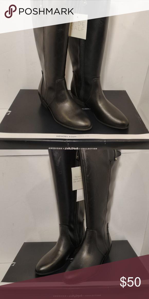women brilliance wide calf boot 9.5M