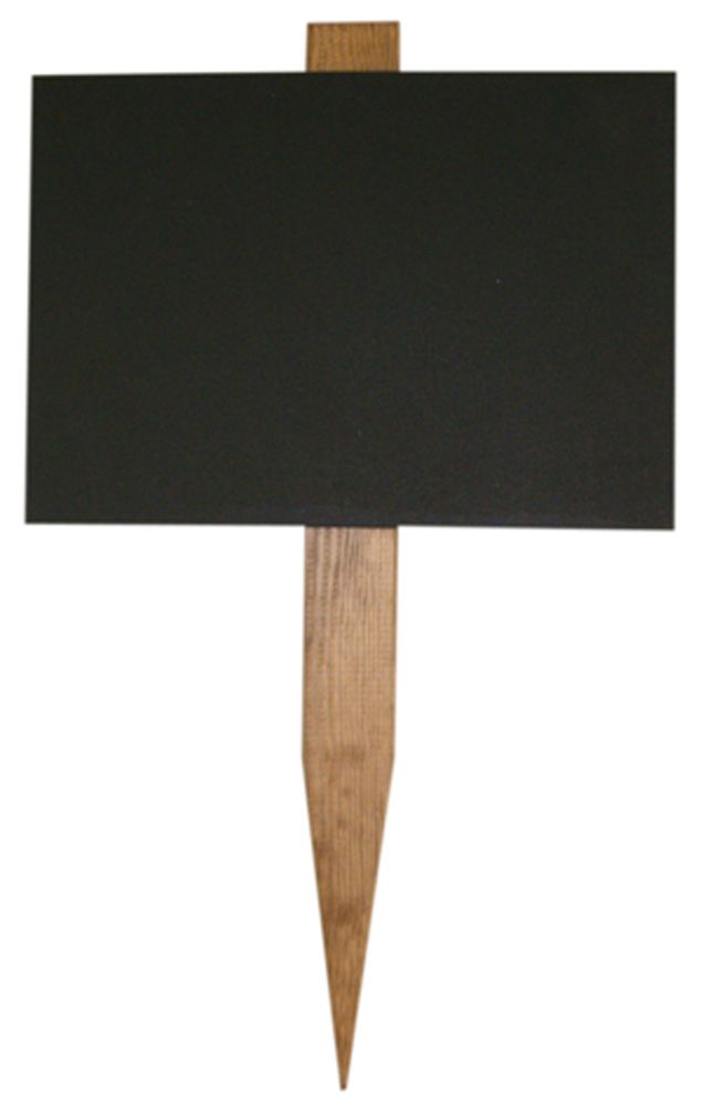 Elegant Small Wooden Garden Stake Chalkboard Each Easichalk Chalkboard Starts Out  As A 6mm Water Resistant MDF
