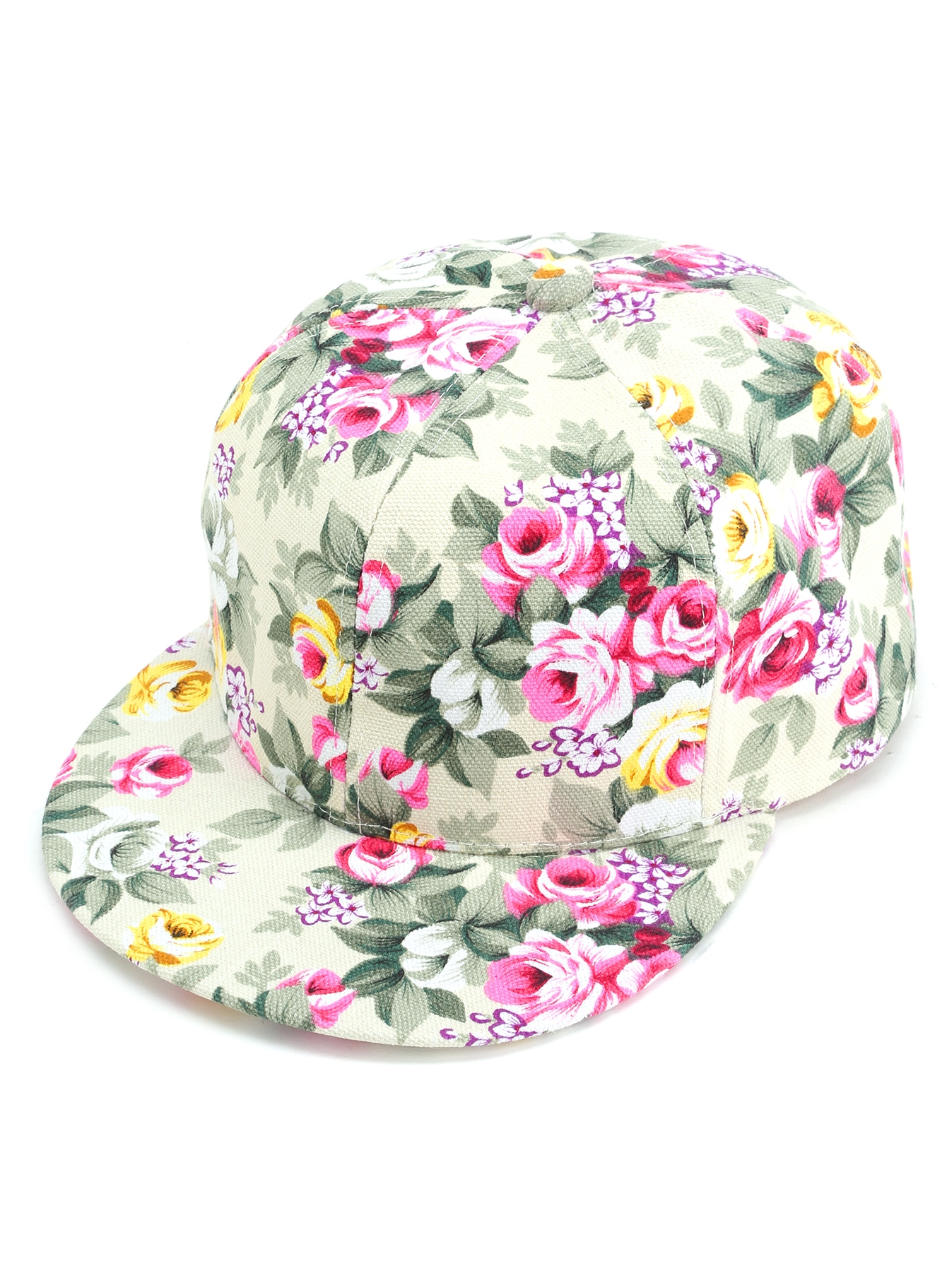 bf2b3f38c04 Floral Print Casual Baseball Cap — € -----------------------color   Multicolor size  one-size