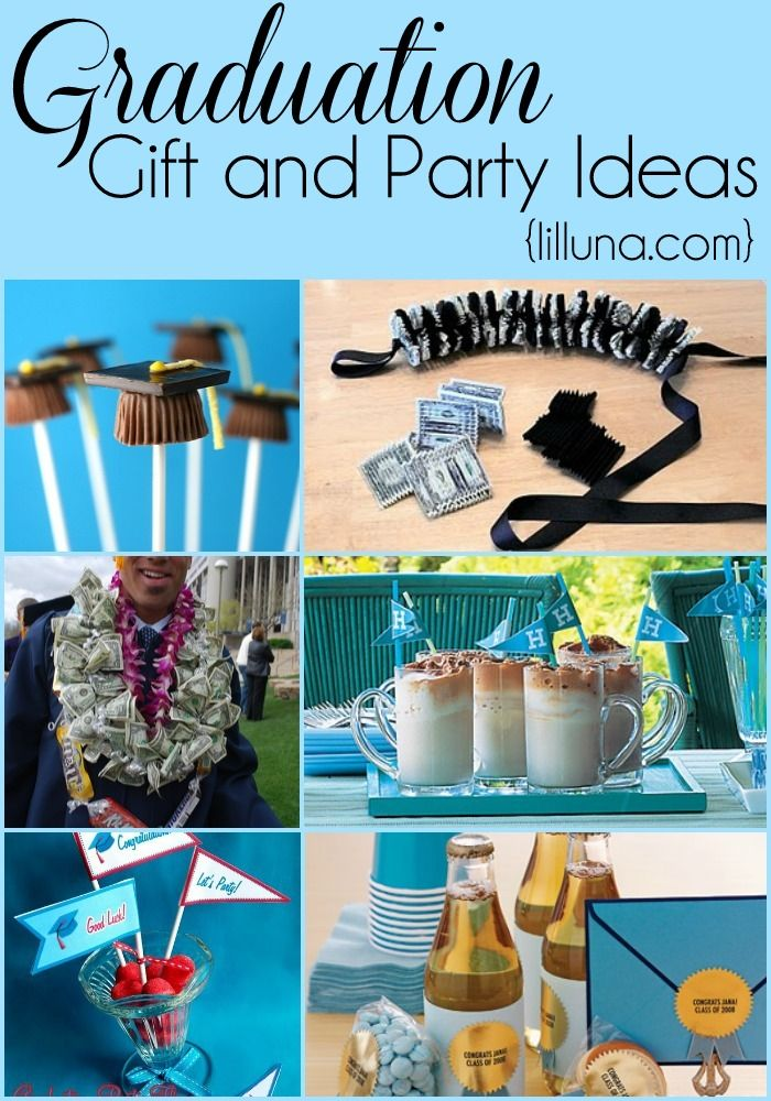 Graduation Gift and Party Ideas | Graduation gifts ...