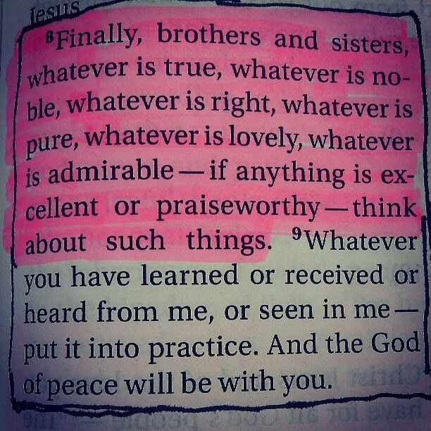 And the peace of God will be with you...