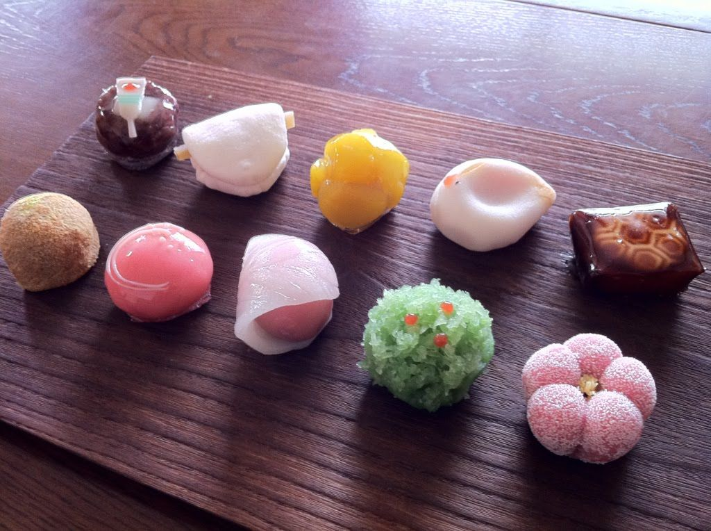 japanese sweets little expensive but their sweets look